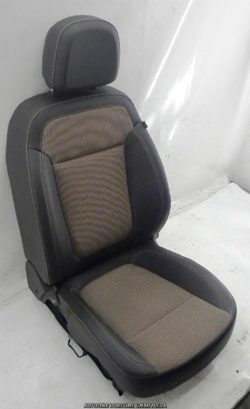 opel astra j sports tourer sitz links vorne fahrersitz mit airbag ebay. Black Bedroom Furniture Sets. Home Design Ideas